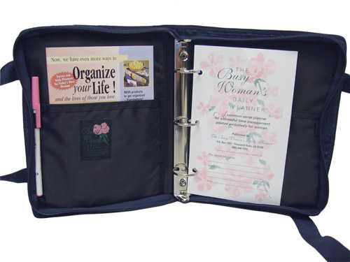 The Busy Woman's Daily Planner carry all purse - www.thebusywoman.com