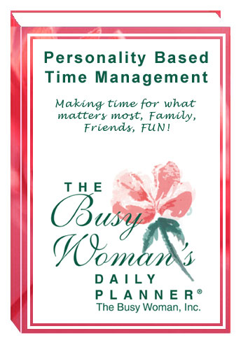 Personality Based Time Management ©